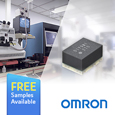 Omron MOSFET Relay Minimises Leakage for Maximum Test Accuracy, samples available from Anglia.