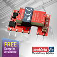Introducing Compact Isolated 1W Regulated PCB Mount AC-DC Converters from Murata, samples available from Anglia.