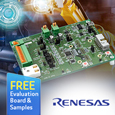 Renesas release RX23E-A MCU Starter Kit to Jumpstart Accurate Analog Evaluation for Industrial Automation andMeasurement Equipment, starter kit and samples available from Anglia