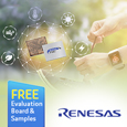 Renesas a premier supplier of advanced semiconductor solutions, has introduced the RE Family, which encompasses the company's current and future line-up of energy harvesting embedded controllers.