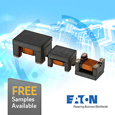 The ACE series common mode chokes from Eaton support CAN bus and Ethernet protocols making them suitable in both automotive and industrial applications where EMI issues can be present.