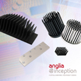 Anglia Components is now offering customised heatsinks as part of its Anglia Inception range to complement its wide range of standard thermal management solutions available from a line-up of world class suppliers.
