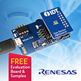 The IDT® ZMOD4410 Gas Sensor Module from Renesas is designed for detecting total volatile organic compounds (TVOC) and monitoring indoor air quality (IAQ).
