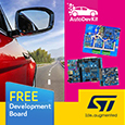STMicroelectronics have launched the AutoDevKit™ which brings together their extensive experience and knowledge of the demanding Automotive market into a simple, low-cost integrated development ecosystem