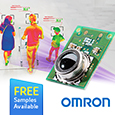 Omron Thermal Infrared sensors, the D6T family, these sensors offer accurate non-contact temperature measurement and feature a silicon lens and MEMS thermopile to detect far-infrared radiation emitted from the surface of the face or body
