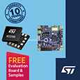 STMicroelectronics are powering the next generation of Industry 4.0 applications with a new vibration-sensing solution optimized to enable smart maintenance of factory equipment.