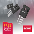 ROHM expand SiC MOSFET range with addition of 3<sup>rd</sup> Generation devices with 35% lower switching losses, samples available from Anglia