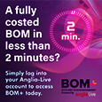 Anglia BOM+: fully cost your Bill of Materials in under 2 minutes