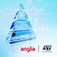 Anglia wins STMicroelectronics distribution award in tough year