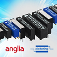 Pickering Electronics high performance reed relays available through Anglia Components following synergistic agreement