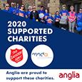 Anglia makes £5000 charity donation