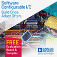 Analog Devices has released the industry's first Software Configurable Input/Output (I/O) product line for building control and process automation, enabling manufacturers and industrial operators to achieve greater control system flexibility