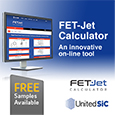 UnitedSiC launch FET-Jet Calculator making selection of the right SiC FET for your design easy, calculator and samples available from Anglia
