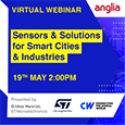 Join Anglia, STMicroelectronics and CW for a free practical workshop on the technical benefits of sensors, including machine learning core, finite state machines and other advanced digital functions.