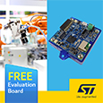 The STWIN SensorTile wireless industrial node (STEVAL-STWINKT1B) from STMicroelectronics is an upgraded development kit and reference design that further simplifies prototyping and testing for advanced industrial IoT applications.