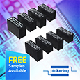 The Pickering 100 and 101 Series are a complete range of Single-in- Line (SIL) reed relays featuring low thermal EMF and primarily intended for direct drive from CMOS logic IC's.