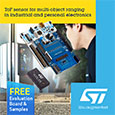 STMicroelectronics have expanded the range of class leading Time-of-Flight (ToF) ranging sensors based on their FlightSense patented technology which allows the sensors to provide highly accurate distance measurement and proximity sensing.