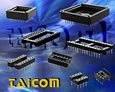 Taicom have IC sockets to suit a wide variety of applications