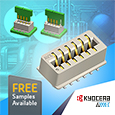 AVX continues to expand its offering of unique connectors, the latest addition to their broadening line of one piece card edge connectors is the vertical dual row top entry version 9159-650 series.
