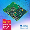 High speed embedded current-to-bit measurement solution offering instrument level performance, evaluation board and samples available from Anglia