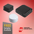 Hammond Manufacturing have expanded their popular 1551 family of miniature plastic enclosures with the addition of an unventilated case option and three round versions.