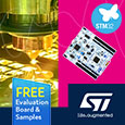 STMicroelectronics has expanded its popular STM32G4 Access Line with the addition of the STM32G491 and STM32G4A1 microcontrollers. These latest members of the STM32G4 Access Line offer increased memory capacity with 112 KB of RAM and up to 512 KB of Flash