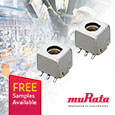 The Murata 5CCEG series of variable inductors deliver high reliability for demanding applications such as in automotive and industrial environments, these surface mount variable inductors are automotive grade, compliant to AEC-Q200