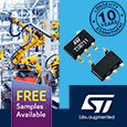 The TSB71x series from STMicroelectronics are 6 MHz bandwidth precision amplifiers featuring rail-to-rail input and output, offered in single or multiple channel options the amplifiers are guaranteed to operate from +2.7 V to +36 V single supply