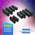The Pickering 104, 119 and 131 Series are miniature Single-in- Line (SIL) high voltage reed relays capable of up to 3kV stand-off voltages depending on the model.