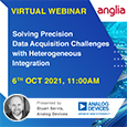 Analog Devices has been at the forefront of precision data acquisition technology for many years.