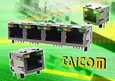 Taicom adds RJ style connectors with integrated indicator LED's