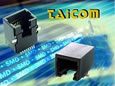 Taicom's expanded range of RJ connectors now includes surface mount parts