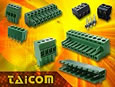 Taicom's pluggable terminal block range expanded to meet the demands for faster PCB connectivity.