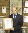 Alan Lawrence celebrates 25 Year service at Anglia