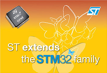 STMicroelectronics attacks new markets for STM32 family in networked